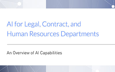 Data Search and Discovery in Legal, Contract and HR