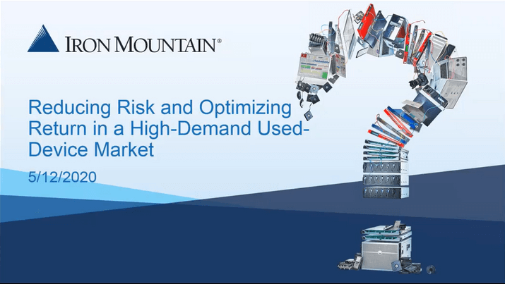 Investment Recovery: Reducing Risk & Optimizing Return in a High-Demand Used-Device Market