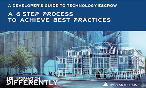 A Developer's Guide to Technology Escrow: A 6 Step Process to Achieve Best Practices