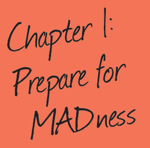 chapter 1 sticky note prepare for madness