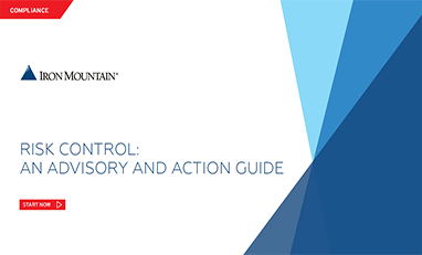 iron mountain risk control advisory and action guide