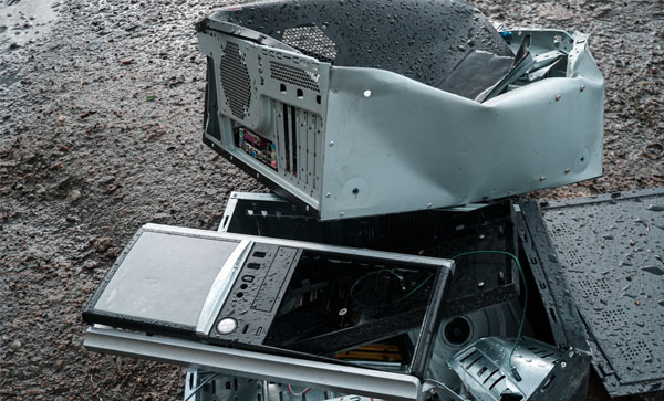 How to Deal With IT Asset Disposition After a Flood - Disposed Laptops | Iron Mountain