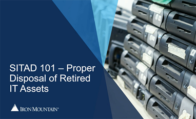 retired it asset disposition checklist | Iron Mountain