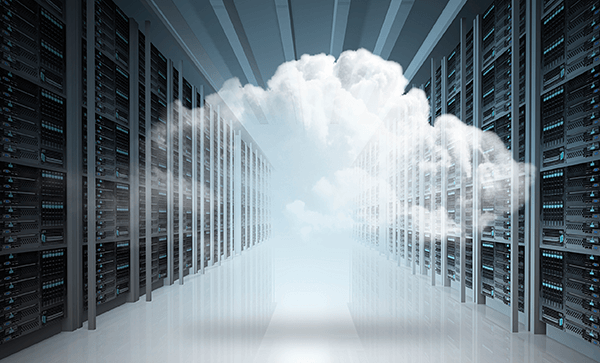Tale of the Tape Moving Backup and Recovery to the Cloud- An abstract cloud in a server room