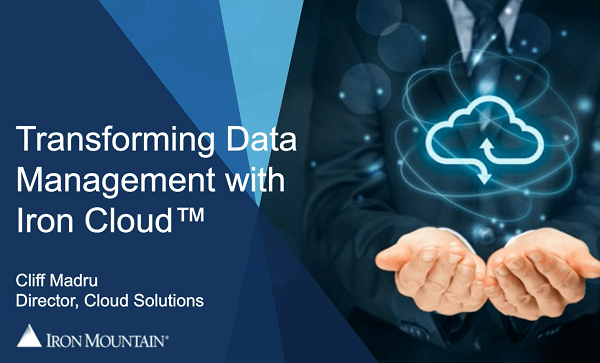 Transforming Data Management with Iron Cloud
