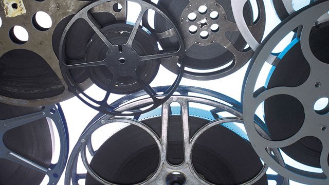 Reels of video film