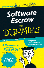software escrow for dummies