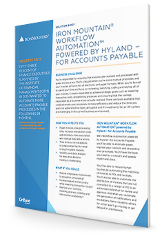 Iron Mountain Accounts Payable Hyland First Page | Iron Mountain