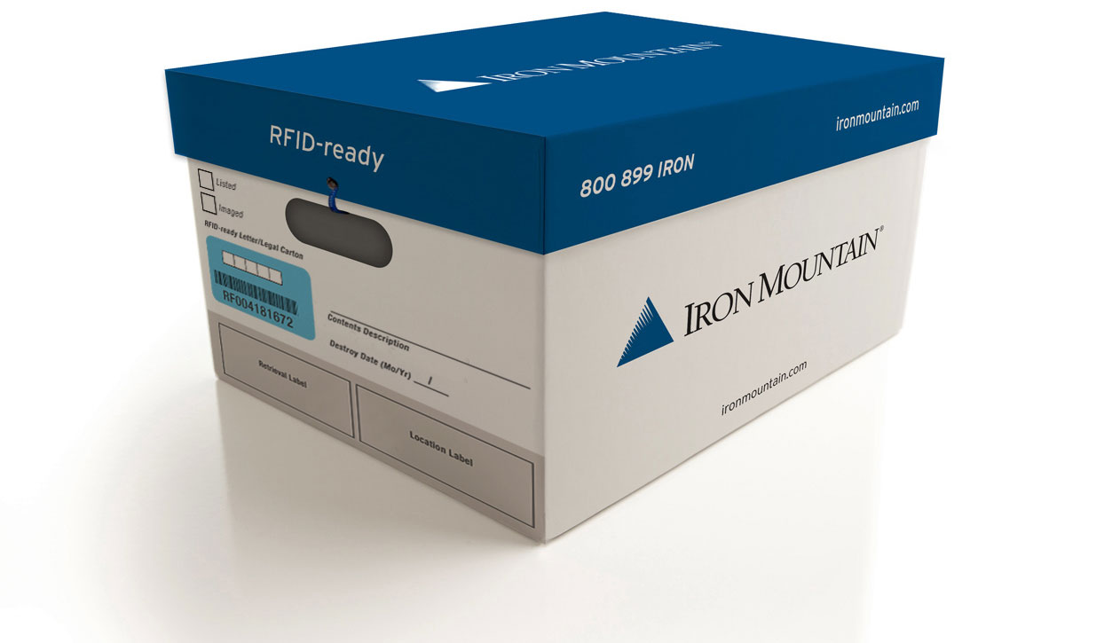 RFID-READY RECORDS STORAGE BOXES  sc 1 st  Iron Mountain & Records Storage Boxes - File Boxes | Iron Mountain