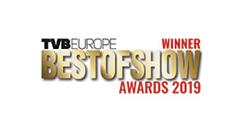 TVB Europe Best of Show 2019 Winner award