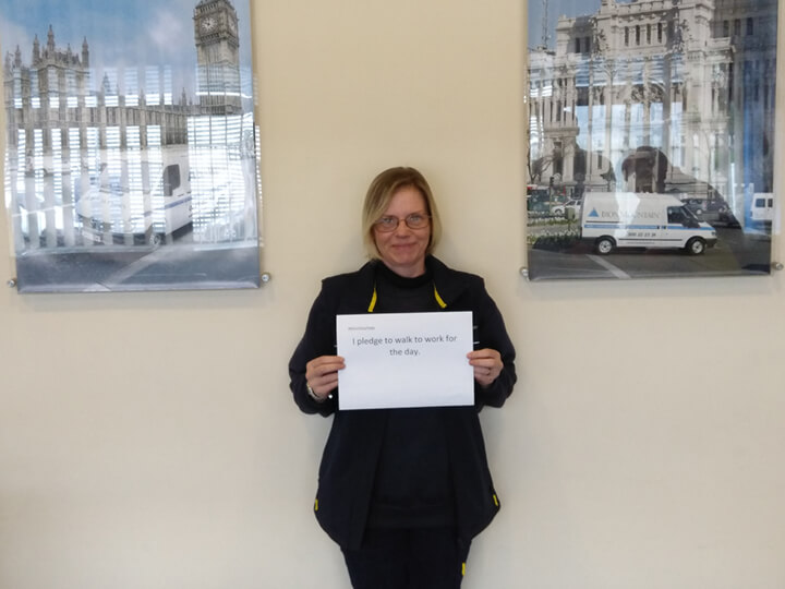 Sue Woodhouse - Pledge