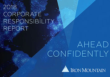 2018 Corporate Responsibility Report | Iron Mountain
