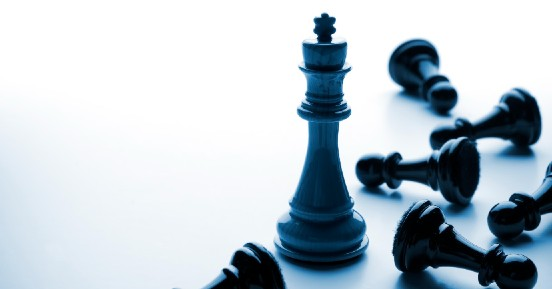 COVID Highlights Need For Operational Resilience Planning - A lone black king stands over fallen chess pieces