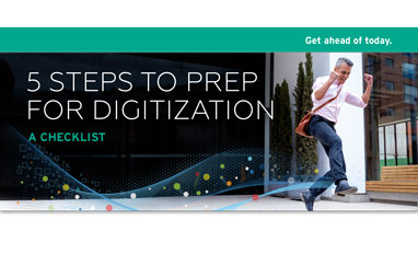 5 steps for digitization