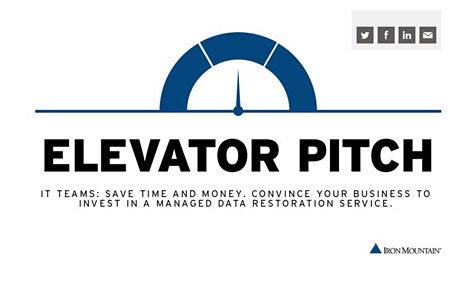 elevator pitch dial image