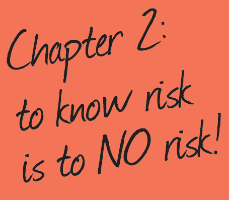 chapter 2 sticky note know the risk