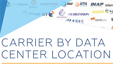 Carriers By Data Center Location