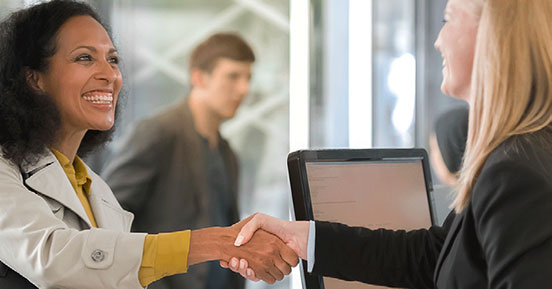 Loan Modification Service - Shaking hands