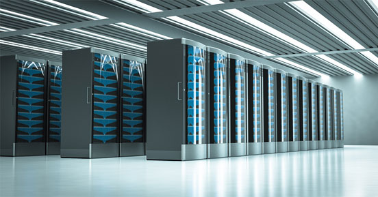 Data Center Selection Criteria Go Beyond Dollars and Cents- Inside a server room