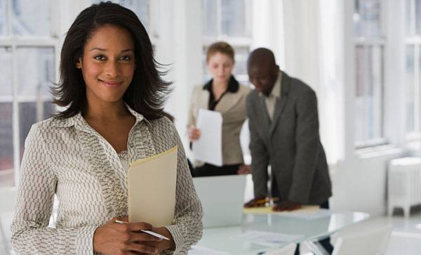 It's Time to Give up Your Onsite File Room- A smiling girl