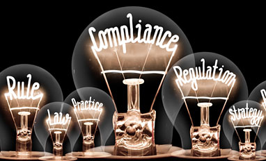Office 365 Security Compliance Is a Team Effort - Lightbulbs concept