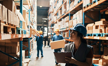 Pathology Storage Management: Weighing the Offsite Advantage - A warehouse worker