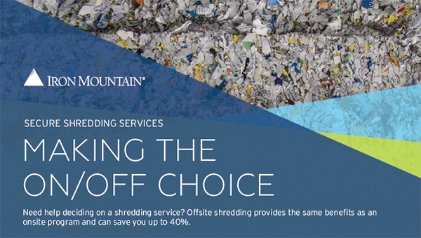 Secure Shredding: How to Make the On/Off Choice