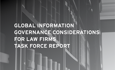 Law Firm Information Governance Symposium 2015 Reports