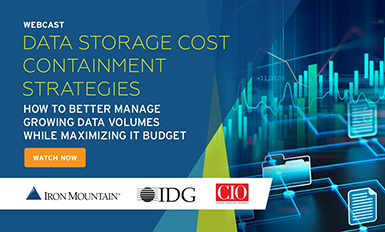 Data Storage Cost Containment Strategies:  How to better manage growing data volumes while maximizing IT budget (video thumbnail)