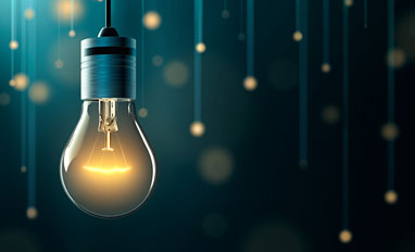 How to Get Started With Digital Transformation- A glowing lightbulb