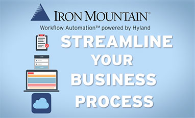 Iron Mountain® Workflow Automation™ powered by Hyland for HR video