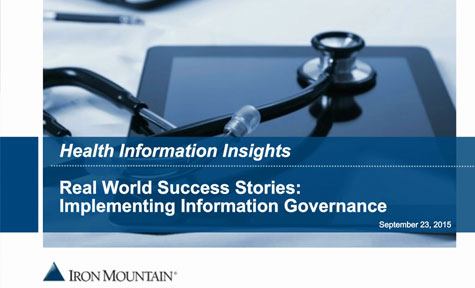 Retention Management: An Enabler for Information Governance