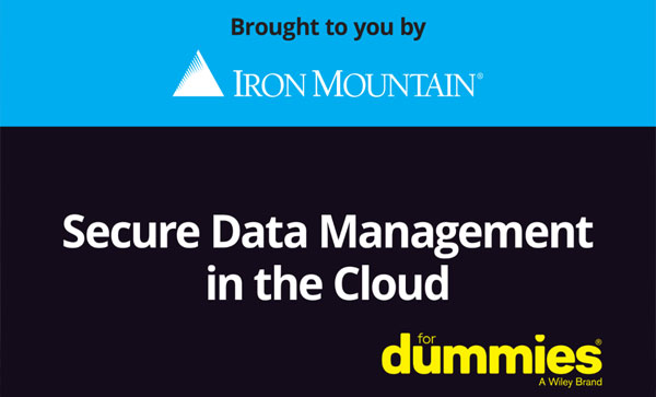 Secure Data Management for Dummies- Data storage center | Iron Mountain