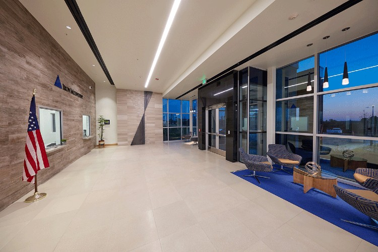 Iron Mountain Data Centers Lobby