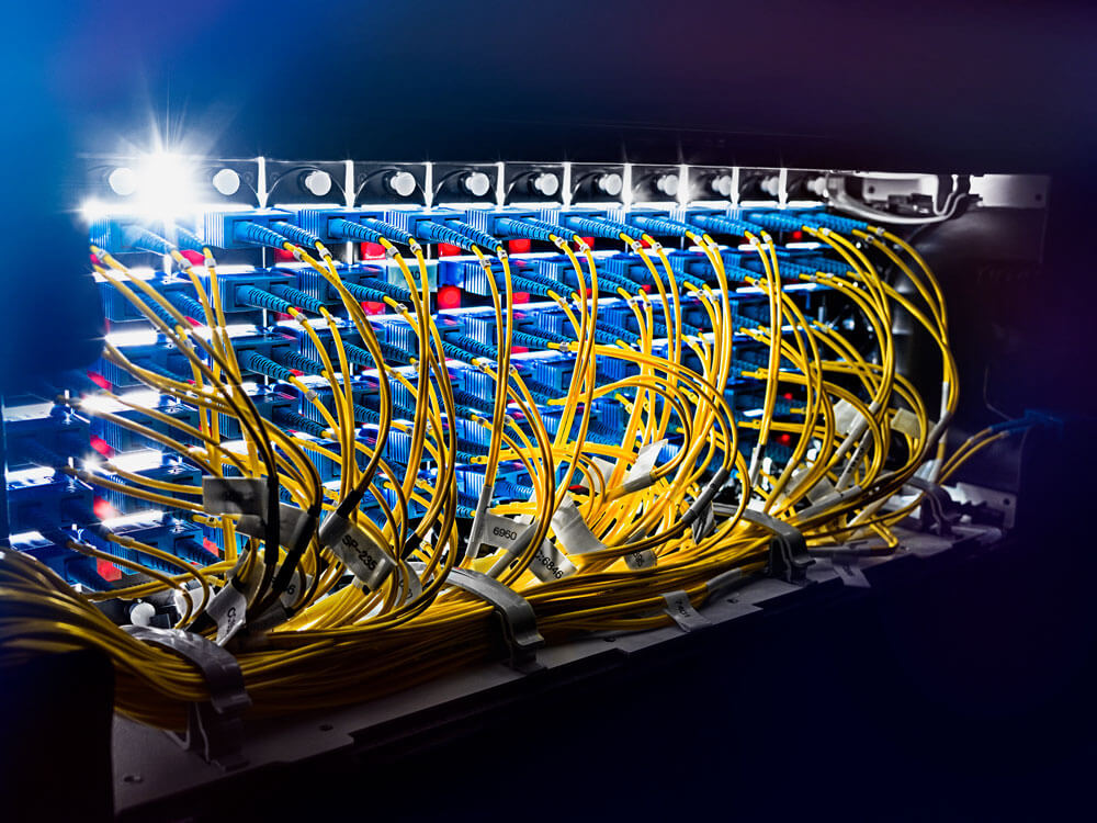 Network Connectivity - Cables cross-section