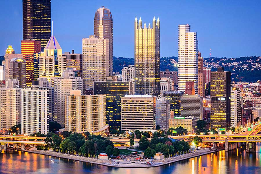 Pennsylvania Colocation Pittsburgh Skyline