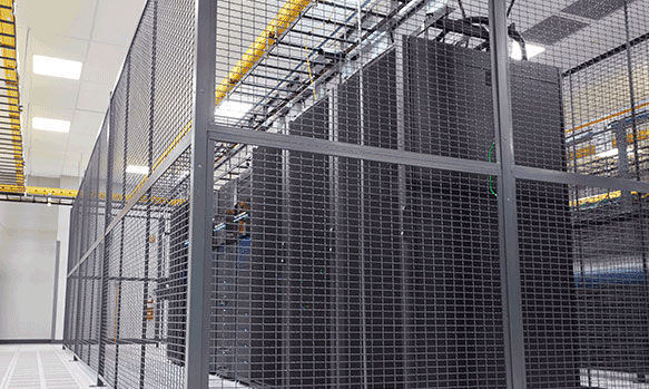 Secure Data Center Cages