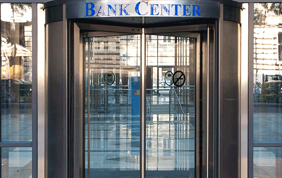Financial Data Center Bank Center