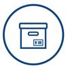 Offsite tape storage -Box icon | Iron Mountain