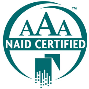 NAID AAA Certified Logo | Iron Mountain