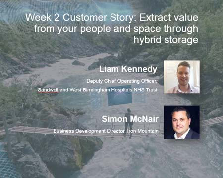 Extract value from your people  and space through hybrid storage
