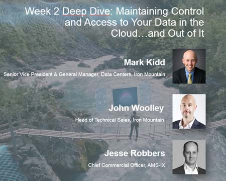 Maintaining control and access to your data in the cloud…and out of it