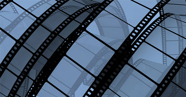 Mikrofilm Services- A film roll background