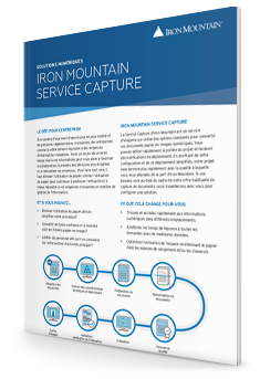 Iron Mountain Service Capture