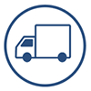 Offsite Tape Vaulting - Truck Icon