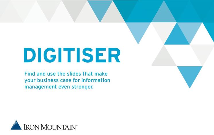 Folien zum Erstellen von Ihrem Business Case für das Informationsmanagement