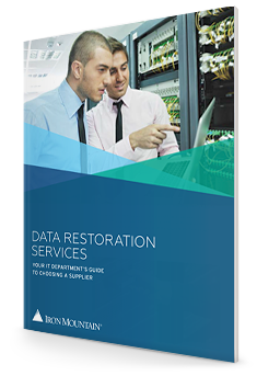 Data Restoration Services: Your It Department's Guide To Choosing A Supplier | Iron Mountain