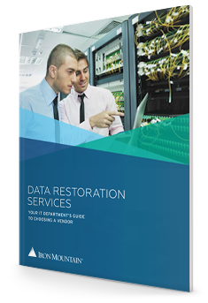 Data Restoration Services: Your It Department's Guide To Choosing A Vendor | Iron Mountain